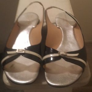 Kate Spade Patent Buckle Sandals